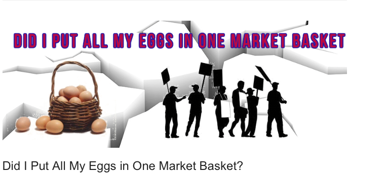 Did I Put All My Eggs In One Market Basket?